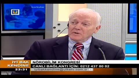 ECNS Nörobilim Kongresi Prof. Dr. Norman C. Moore Konuk