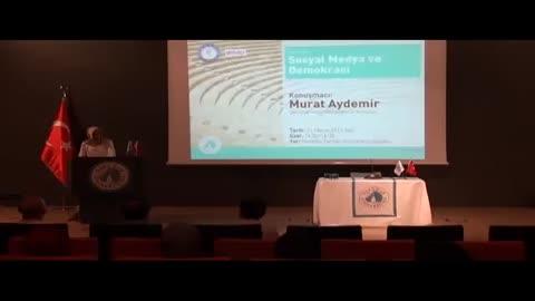 Sosyal Medya ve Demokrasi Söyleşisi ( Üsküdar Üniversitesi )