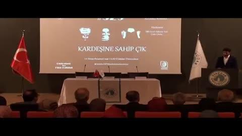 Üsküdar Üniversitesi 529 Kardeşine Sahip Çık paneli