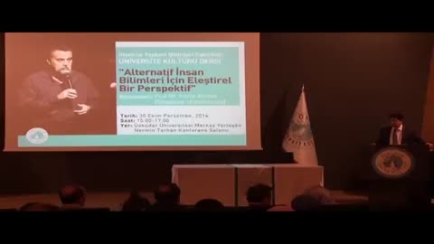 """Syed Farid Alatas ile """"Alternatif İnsan Bilimleri için Eleştirile Bir Perspektif"""" Konferansı"""