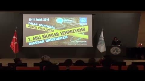 Üsküdar Üniversitesi 1. Adli Bilimler Sempozyumu Barış Metin Yalan ve Nörogörüntüleme