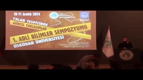 Üsküdar Üniversitesi 1. Adli Bilimler Sempozyumu Açılış Konuşmaları