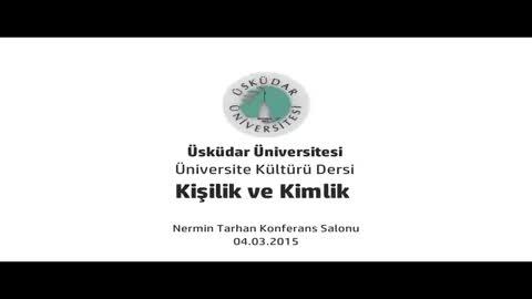 Kişilik ve Kimlik Konferansı (Prof. Dr. Sırrı Akbaba)