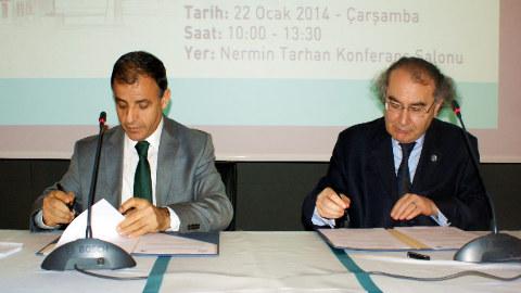 Üsküdar Üniversitesi 3. Davranış Bilimleri Fikir Festivali Protokolü İmzalandı.