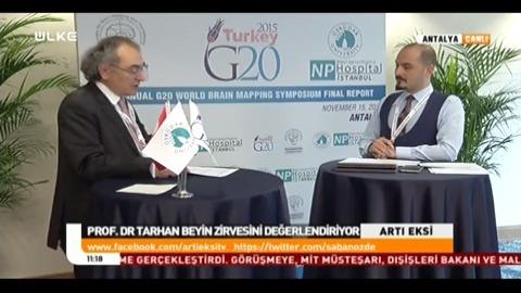 G20 Dünya Beyin Haritalaması ve Tedavileri Bilimsel Zirvesi Antalya