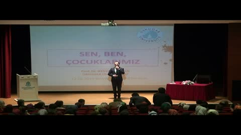 """Prof. Dr. Nevzat Tarhan Başakşehir """"Sen, Ben, Çocuklarımız"""" Konferansı"""