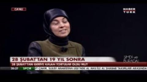 Merve Kavakçı 19. yılında 28 Şubat'ı Habertürk'te değerlendirdi.