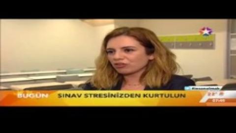 YGS'de Sınav Stresiyle Mücadeleyi Üsküdar Üniversitesi Öğrencileri ve Ece Tözeniş Anlattı.
