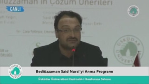 Bediüzzaman Said Nursi'yi Anma Programı Sait Kılıç (29/03/2016)