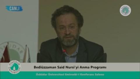Bediüzzaman Said Nursi'yi Anma Programı Metin Karabaşoğlu (29/03/2016)