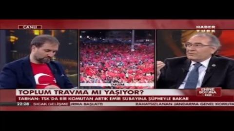 Prof. Dr. Nevzat Tarhan 15 Temmuz Darbe Girişimini HABERTÜRK TV'de değerlendirdi.
