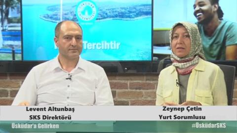 Üsküdar Üniversitesi  SKS Direktörlüğü Levent Altunbaş ve Yurtlar Sorumlusu Zeynep Çetin-SKS Nedir ? ve Barınma Olanakaları Nelerdir? konuşuldu.