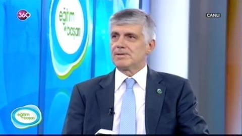 Bilimsel Çalışmalarıyla Üsküdar Üniversitesini, Prof. Dr. Tayfun Uzbay 360 TV'de anlattı...