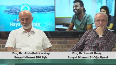Üsküdar Üniversitesi Sosyal Hizmet Bölm Başkanı  Doç.Dr. Abdullah Karatay ve Doç.Dr. İsmail Barış - Sosyal Hizmet Yardımı ve Güçlendirme Eğitimi