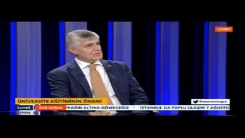 Üniversite eğitimi ve tercihler nasıl olmalı? Üsküdar Üniversitesi'nden Prof. Dr. Tayfun Uzbay TVNET'te anlattı...
