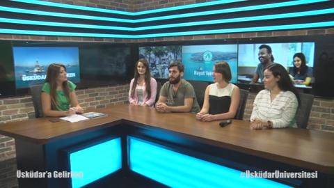 Üsküdar Üniversitesi Öğrencileri Adaylara Kendi Bölümlerini Anlattı