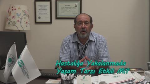 Prof.Dr. Oğuz Tanrıdağ, Alzheimer Hastalığına Yakalanmada Yaşam Faktörü Hakkında Bilgilendiriyor