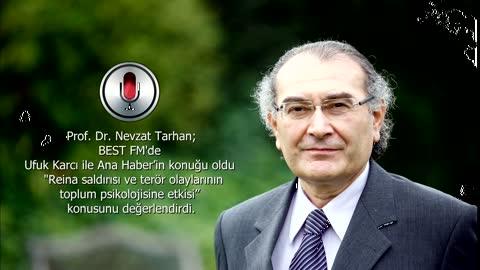 """Prof. Dr. Nevzat Tarhan: """"Terör eylemleriyle sosyal hareketliliğin azaltılması hedefleniyor"""""""