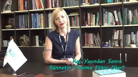 Uzman Psikolog Özge Özkan Çocuklarda Travma Etkisini Anlatıyor