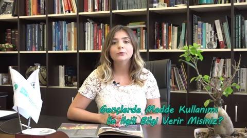 Uzman Psikolog Saadet Merih Çengel Gençlerde Madde Kullanımı Hakkında Bilgilendiriyor