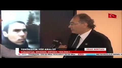 Reina Katliamcısının Profilini Prof. Dr. Nevzat Tarhan Değerlendirdi.