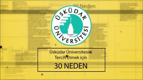 Üsküdar Üniversitesini tercih etmek için 30 neden