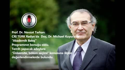 """Prof. Dr. Nevzat Tarhan: """"Sadece mesleki başarıyı değil hayat başarısını da önemsiyoruz"""""""