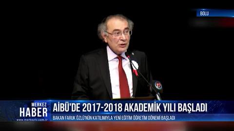 Prof. Dr. Nevzat Tarhan, Abant İzzet Baysal Üniversitesi'nde yeni yılın ilk dersini verdi