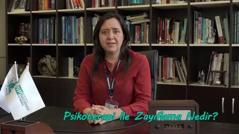 Prof. Dr. Aslıhan Dönmez Psikoterapi İle Zayıflama Yöntemini Anlatıyor.mp4
