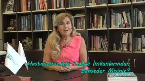 Prof.Dr. Nesrin Dilbaz Hastanemizdeki Tedavi İmkanlarından Bahsediyor.mp4