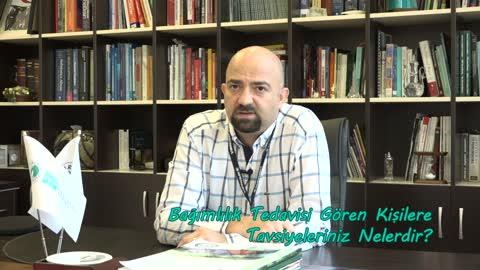 Yrd.Doç.Dr. Onur Noyan Bağımlılık Tedavisi Gören Kişilere Tavsiyelerde Bulunuyor