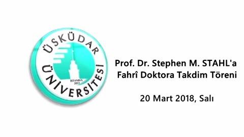 """Prof. Dr. Stephen M. Stahl: """"Hastaneniz dünya starı siz bir rüyada yaşıyorsunuz"""""""