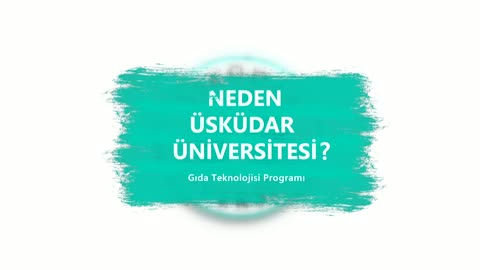 Neden Üsküdar Üniversitesi? Dr. Öğr. Üyesi Salih Tuncay, Gıda Teknolojisi Programını anlattı.