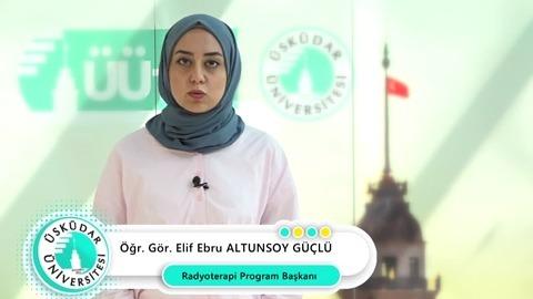 Neden Üsküdar Üniversitesi? Öğr. Gör. Elif Ebru Altunsoy Güçlü, Radyoterapi Programını anlattı.