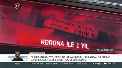 Koronavirüs ile geçen bir sene nasıl geçti?