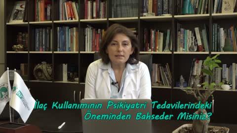 Yrd. Doç. Dr. Semra Baripoğlu İlaç Kullanımının Psikiyatri Tedavilerindeki Önemini Anlatıyor