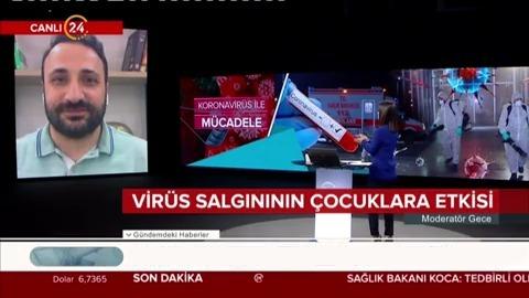 Virüs salgınının çocuklara etkisi